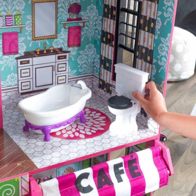KidKraft Drewniany domek dla lalek loft Brooklyn