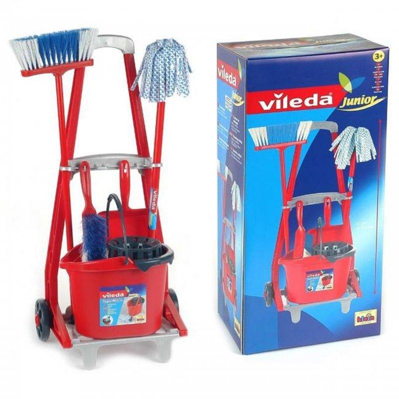 Vileda wózek do sprzątania z akcesoriami Klein