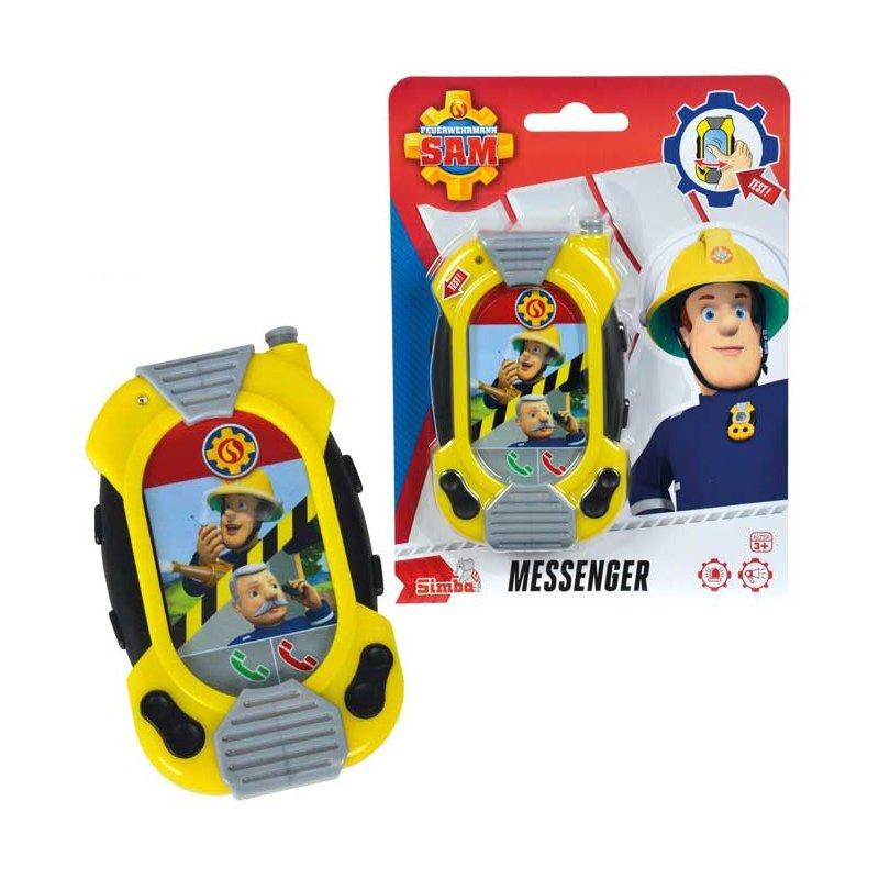 Simba Strażak SAM Smartfon Telefon Dźwięk Światło