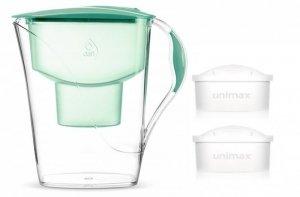 Dzbanek filtrujący Dafi Luna MI +2 filtry Unimax (miętowy)