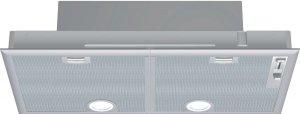 Okap do zabudowy Siemens LB 75565 (379,3 m3/h; 730mm; kolor stalowy)