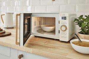 Kuchenka mikrofalowa Swan Nordic Digital Microwave SM22036WHTH (800W; 20l; kolor biały)