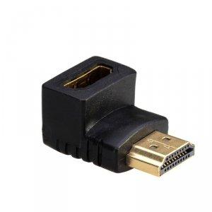 Adapter Akyga AK-AD-01 (HDMI F - HDMI M; kolor czarny)