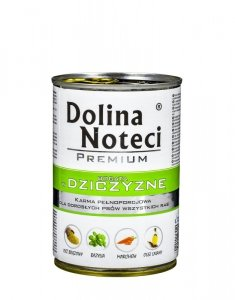Karma DOLINA NOTECI Premium Dziczyzna (0,40 kg )