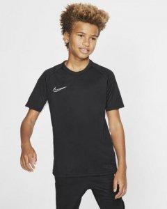 Koszulka dla dzieci Nike B Dry Academy SS czarna AO