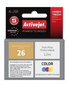 Tusz Activejet AL-26R (zamiennik Lexmark 26 10N0026; Premium; 12 ml; kolor)