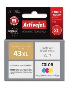 Tusz Activejet AL-43RX (zamiennik Lexmark 43XL 18YX143E; Premium; 21 ml; kolor)