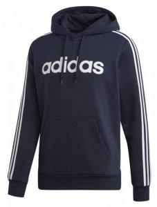 Bluza męska adidas Essentials 3 S PO FL granatowa D