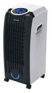 Klimatyzator przenośny Ravanson KR-7010 (60W; 3 prędkości pracy, Lampka kontrolna, Możliwość użycia wkładów chłodniczych ICE BOX