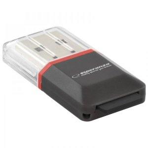 Czytnik kart Esperanza EA134K (Zewnętrzny; MicroSD, MicroSDHC)