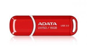 Pendrive ADATA UV150 AUV150-16G-RRD (16GB; USB 3.0; kolor czerwony)