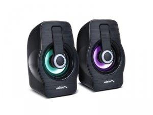 Zestaw głośników komputerowe AUDIOCORE 855B (2.0; kolor czarny)