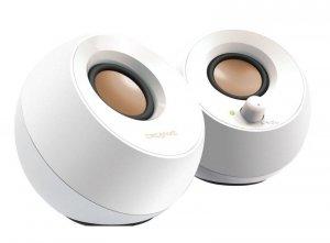 Zestaw głośników komputerowe Creative Pebble 2.0 51MF1680AA001 (2.0; kolor biały)