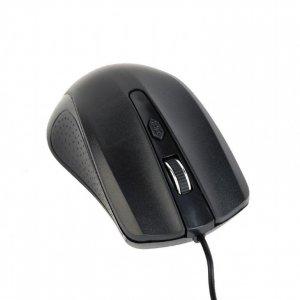 Mysz GEMBIRD MUS-4B-01 (optyczna; 1200 DPI; kolor czarny)