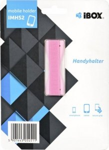 Uchwyt Magnetyczne do smartfona IBOX PLASTER IMHS2 (kolor różowy) (WYPRZEDAŻ)