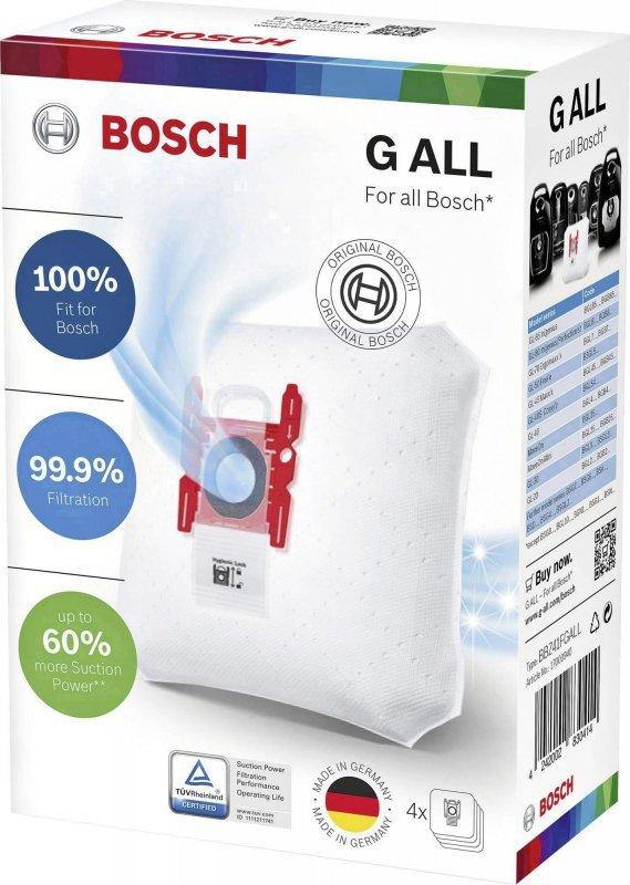Worek do odkurzacza Bosch (Włókno syntetyczne; BOSCH BBZ 41FGALL; 4 szt.)