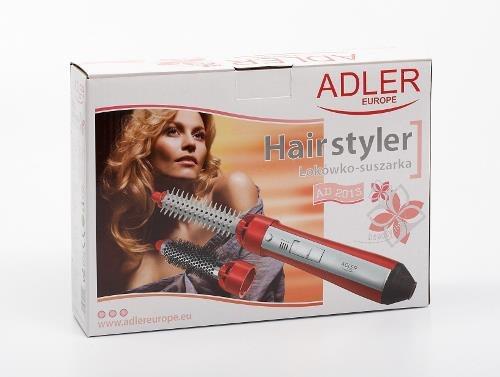 Adler AD 2013 Lokówko-suszarka Czerwony, Biały 550 W