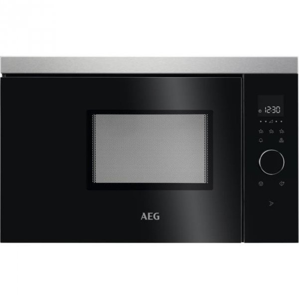 Kuchenka mikrofalowa AEG MBB1756SEM (1250W; kolor czarny)