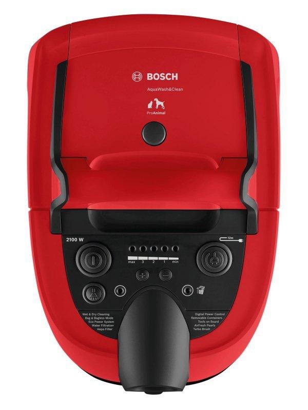 Bosch Serie 4 BWD421PET odkurzacz Cylinder próżniowy Suchy i Mokry 2100 W