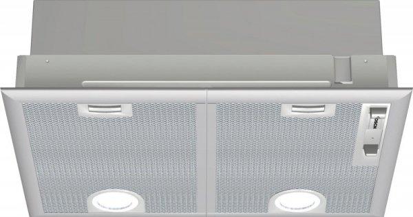 Okap wyspowy BOSCH DHL 555 BL (618 m3/h; 530mm; kolor srebrny)
