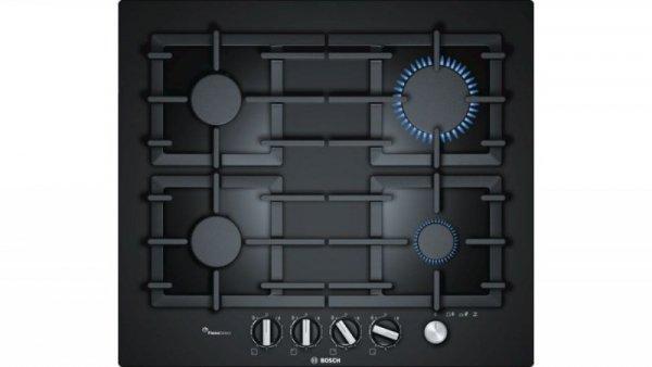 Płyta gazowa BOSCH PPP6A6M90 (4 pola grzejne; kolor czarny)