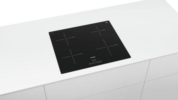 Bosch Serie 4 PUE611BB1E płyta kuchenna Czarny Wbudowany Płyta indukcyjna bezstrefowa 4 zone(s)