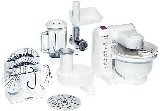 Bosch MUM4657 robot kuchenny Biały 550 W