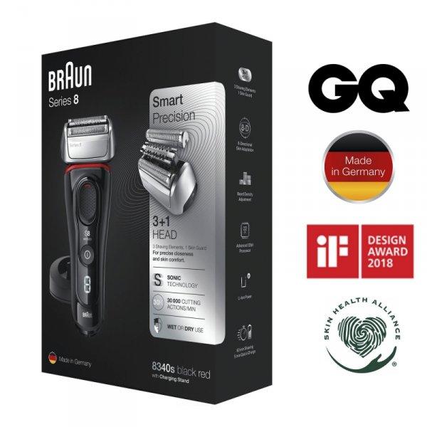 Golarka BRAUN Series 8 8340s
