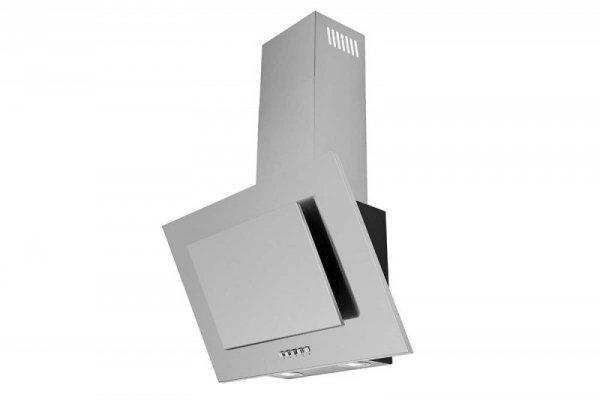 Okap kominowy, przyścienny CIARKO NTI 60 Inox (600mm; kolor inox)