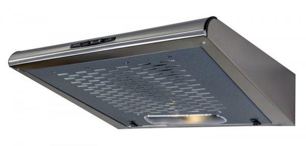 Okap podszafkowy CIARKO ZRD 60 Inox (600mm; kolor inox)
