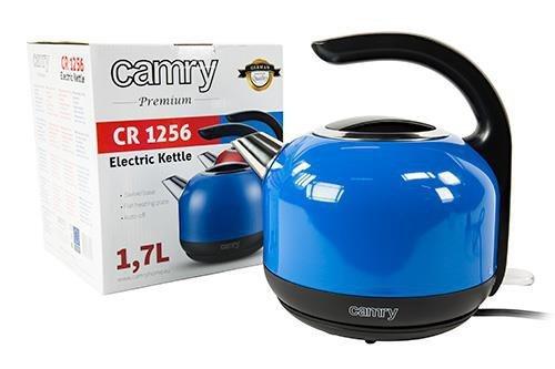 Czajnik elektryczny CAMRY CR 1256b (2000W 1.7l; kolor niebieski)