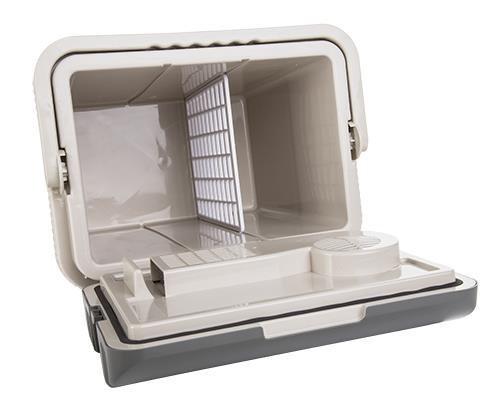 Camry CR 8065 24L lodówka podróżna Prąd elektryczny Szary, Biały