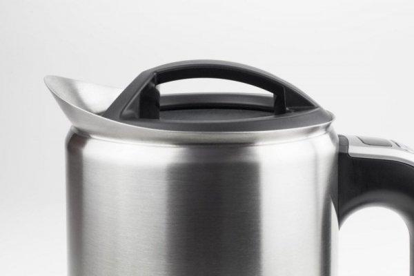 Caso WK czajnik elektryczny 1 L Czarny, Stal nierdzewna 1800 W