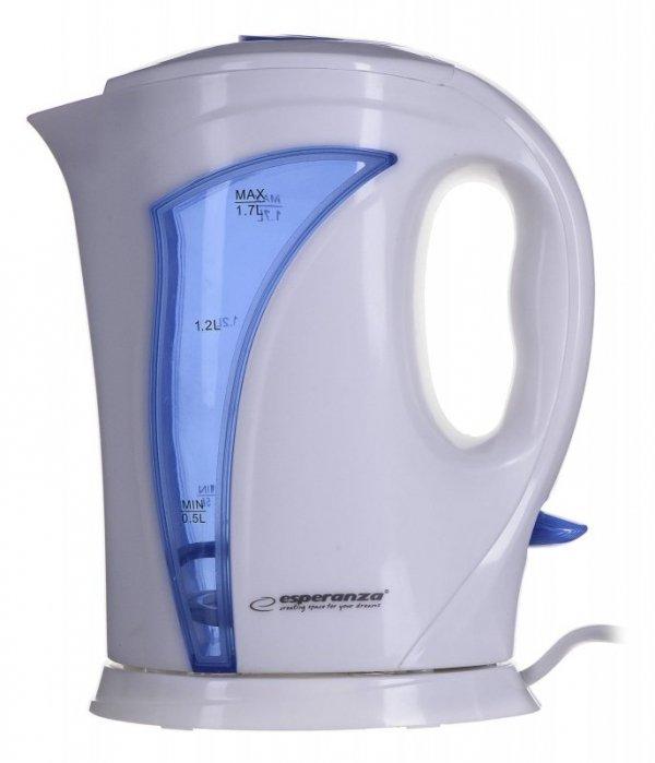 Czajnik elektryczny Esperanza Iguazu EKK018B (2200W 1.8l; kolor niebieski)