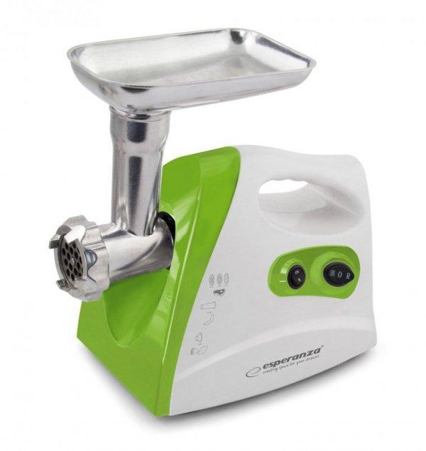 Esperanza EKM012G maszynka do mielenia 600 W Zielony/Biały