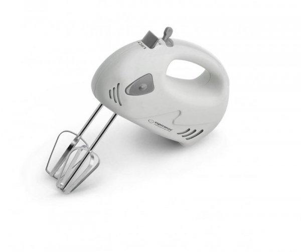 Mikser ręczny Esperanza Muffin EKM007E (125W; kolor biały, kolor szary)