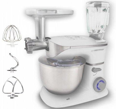 Esperanza EKM025 robot kuchenny 5 l Stal nierdzewna, Biały 1000 W