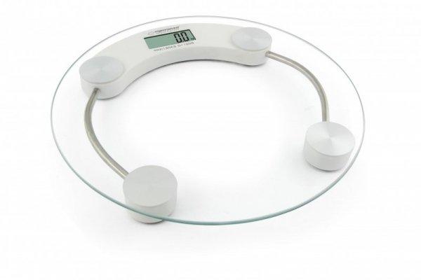 Esperanza EBS007W waga Okrągły Biały Elektroniczna waga osobista