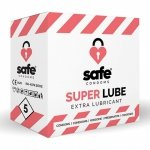 Prezerwatywy - Safe Super Lube Condoms Extra Lubricant 5 szt