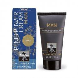 Żel/sprej-Shiatsu- 50ml penis power cream for man