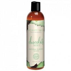 Środek nawilżający - Intimate Earth Natural Flavors Glide Chocolate Mint 60 ml