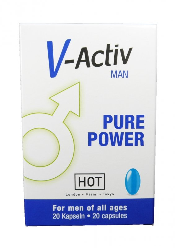 Supl.diety-V-Activ Caps for Men- 20caps