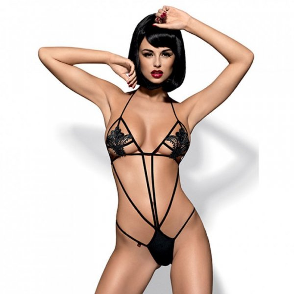 Body - Obsessive Luiza Teddy black S/M