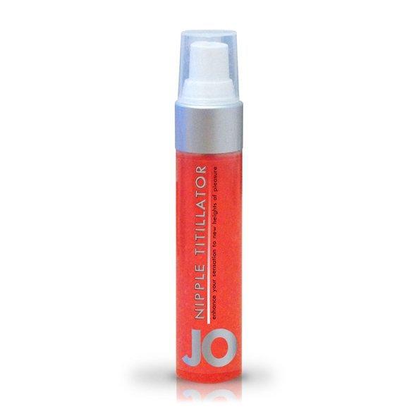 Żel stymulujacy do stuek - System JO Nipple Titillator 30 ml Truskawkowy