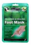 Beauty Formulas Maska na stopy relaksująco odżywcza  1 para