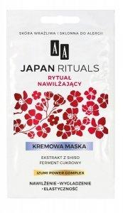 AA Japan Rituals Maska kremowa na twarz Rytuał Nawilżający  4mlx2
