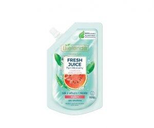 Bielenda Fresh Juice Płyn micelarny kojący z wodą cytrusową Arbuz 45ml - doypack