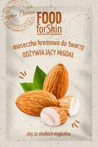 Marion Food for Skin Maseczka kremowa do twarzy - odżywiający Migdał  6ml