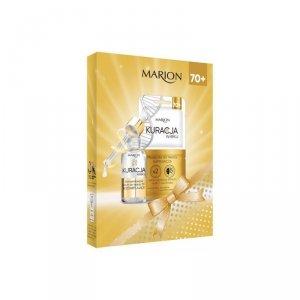 Marion Zestaw prezentowy Kuracja Wieku 70+ (maseczka 8ml x 2+krem pod oczy 15m)