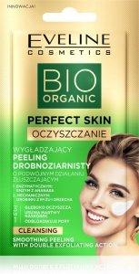 Eveline Bio Organic Perfect Skin Wygładzający Peeling drobnoziarnisty 8ml